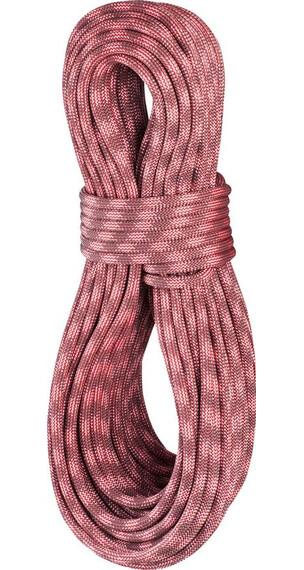 Edelrid Python Rope 10mm/50m red/stone